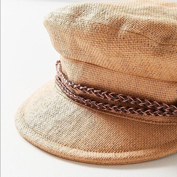 64c8d9a64ad20 Brixton Accessories - Tan Brixton Kayla Straw Cap Size (S) 7 (56cm)